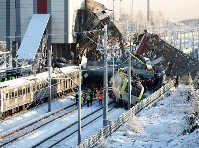 Choque de trenes