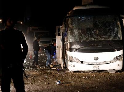 Explosion Egipto