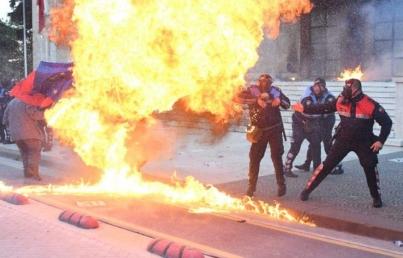 Protestas Albania